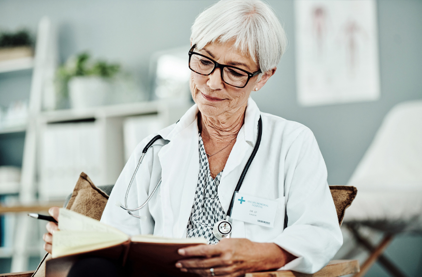 Physician maintaining her medical license after retirement